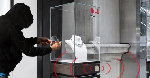 contrôle d'accès pour vitrine ou meuble